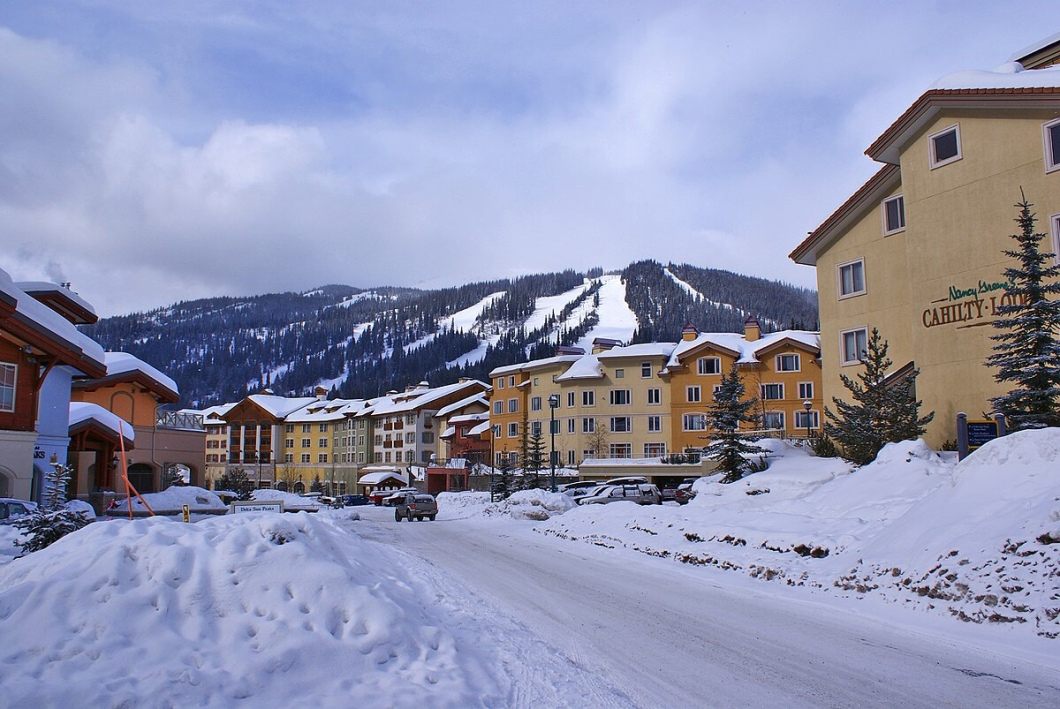 Sun Peaks Resort, BC